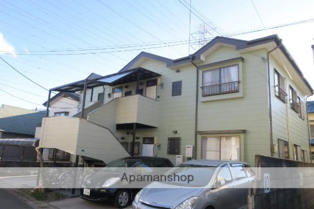 栃木県小山市、小山駅徒歩12分の築23年 2階建の賃貸アパート
