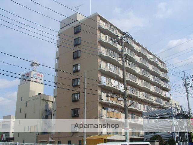 栃木県小山市、小山駅徒歩3分の築29年 9階建の賃貸マンション