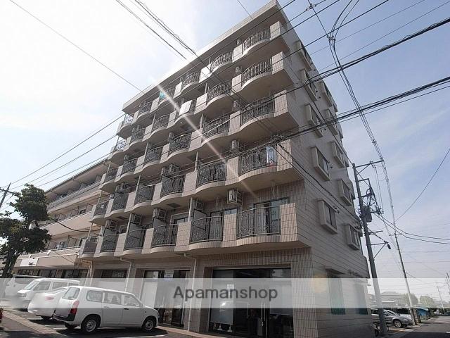 栃木県小山市、小山駅徒歩35分の築18年 6階建の賃貸マンション