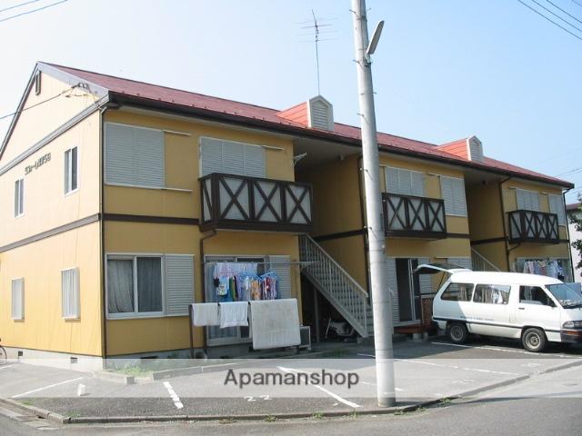 栃木県足利市、足利駅徒歩40分の築26年 2階建の賃貸アパート