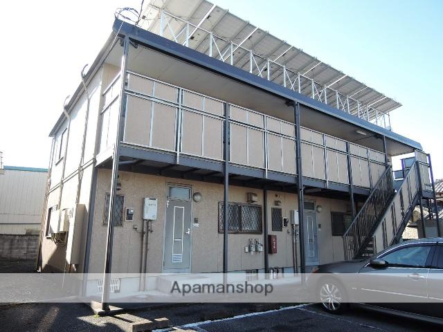栃木県足利市、福居駅徒歩11分の築19年 2階建の賃貸アパート