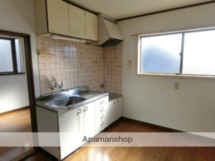 ハーモニーハイツ[3DK/54m2]のキッチン