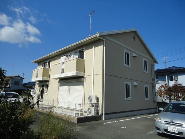 栃木県足利市、県駅徒歩30分の築12年 2階建の賃貸アパート