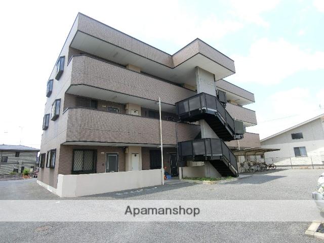栃木県足利市、山前駅徒歩5分の築15年 3階建の賃貸アパート