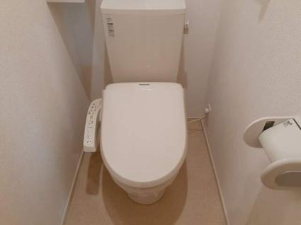 ラ・グリシーヌ[2LDK/57.19m2]のトイレ