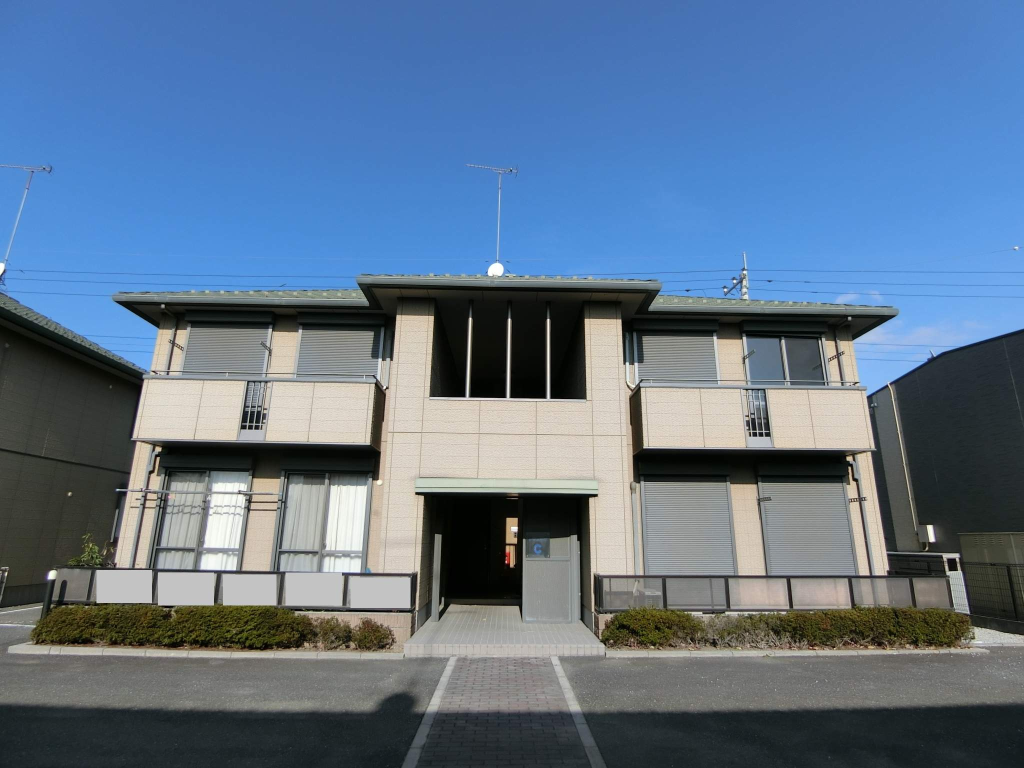 群馬県太田市、野州山辺駅徒歩19分の築17年 2階建の賃貸アパート