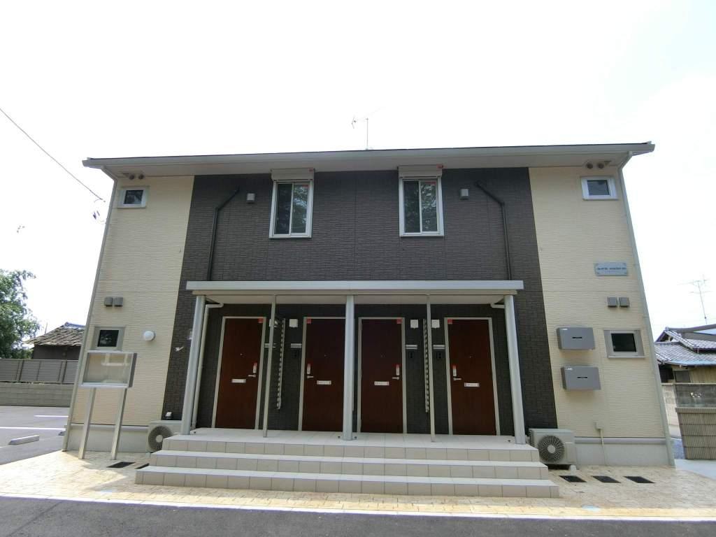 群馬県太田市、竜舞駅徒歩11分の新築 2階建の賃貸アパート