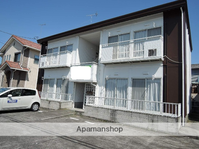 栃木県足利市、県駅徒歩31分の築26年 2階建の賃貸アパート