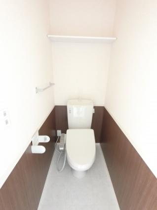 栃木県足利市大前町[1LDK/35.46m2]のトイレ