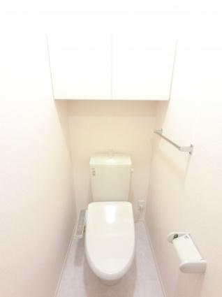 栃木県足利市福居町[1LDK/43.71m2]のトイレ