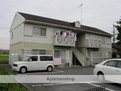 栃木県足利市、山前駅徒歩12分の築25年 2階建の賃貸アパート