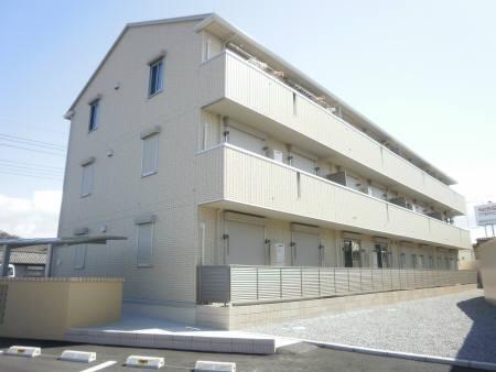 栃木県佐野市、堀米駅徒歩20分の築6年 3階建の賃貸アパート