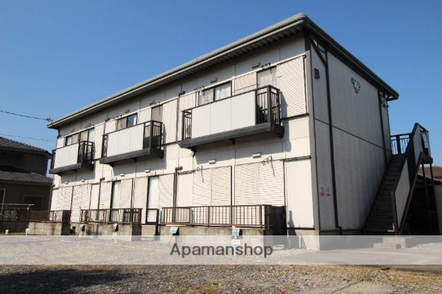 栃木県佐野市、田沼駅徒歩14分の築21年 2階建の賃貸アパート