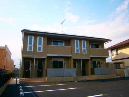 栃木県佐野市、佐野市駅徒歩19分の築4年 2階建の賃貸アパート