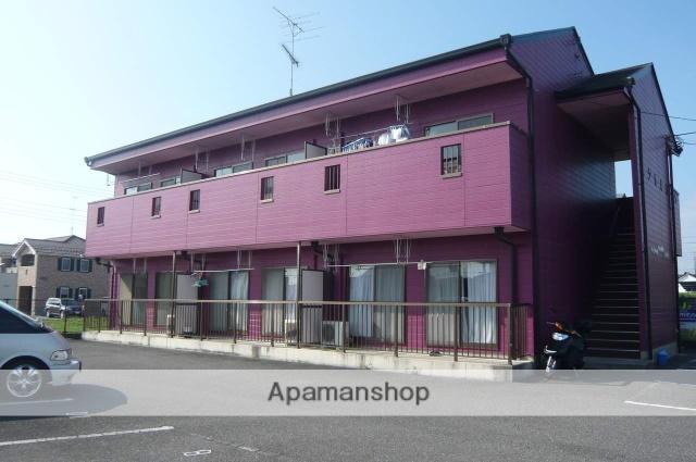 栃木県佐野市、堀米駅徒歩8分の築21年 2階建の賃貸アパート