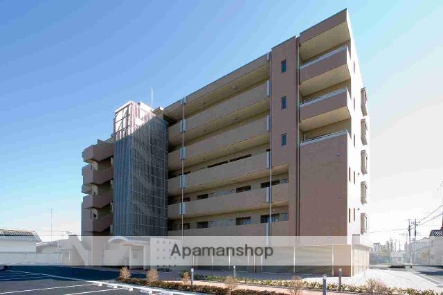 栃木県佐野市、佐野駅徒歩10分の築9年 6階建の賃貸マンション
