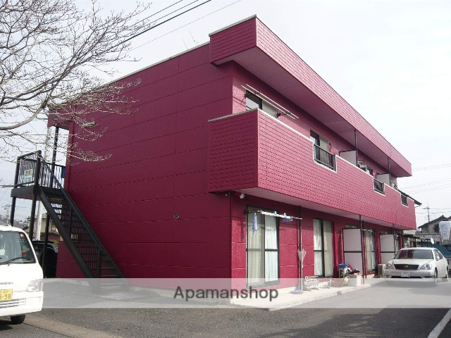 栃木県佐野市、堀米駅徒歩9分の築21年 2階建の賃貸アパート
