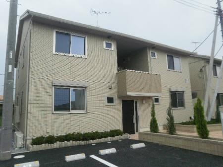群馬県邑楽郡明和町、川俣駅徒歩23分の築5年 2階建の賃貸アパート