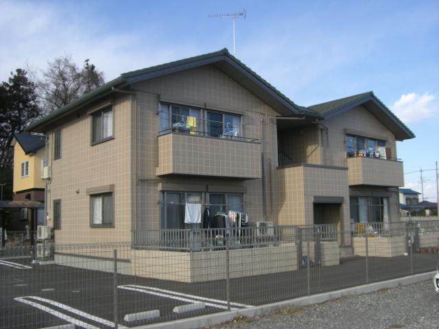 群馬県邑楽郡邑楽町の築10年 2階建の賃貸アパート
