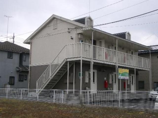 群馬県邑楽郡大泉町、西小泉駅徒歩9分の築21年 2階建の賃貸アパート