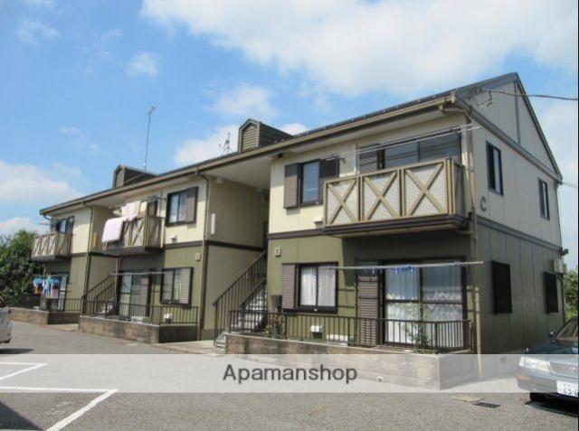 群馬県太田市、世良田駅徒歩70分の築22年 2階建の賃貸アパート