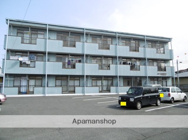 群馬県太田市、太田駅徒歩25分の築25年 3階建の賃貸アパート