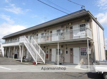 群馬県太田市、三枚橋駅徒歩6分の築28年 2階建の賃貸アパート
