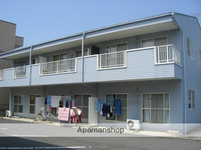 群馬県太田市、竜舞駅徒歩8分の築25年 2階建の賃貸アパート
