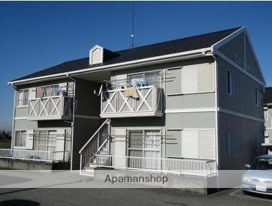 群馬県太田市、細谷駅徒歩63分の築23年 2階建の賃貸アパート