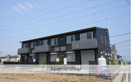 群馬県太田市、木崎駅徒歩40分の築2年 2階建の賃貸アパート