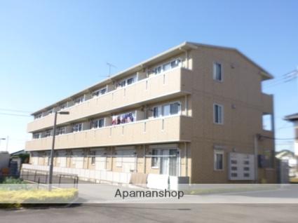 群馬県太田市、韮川駅徒歩25分の築9年 3階建の賃貸マンション