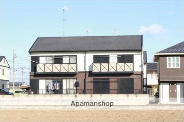 群馬県太田市、木崎駅徒歩9分の築21年 2階建の賃貸アパート