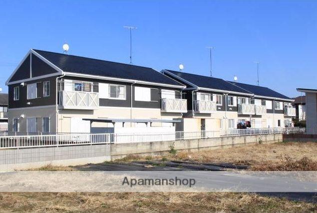 群馬県太田市、世良田駅徒歩25分の築23年 2階建の賃貸アパート