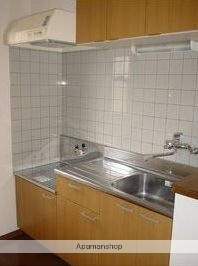 パーフェクトハウス由良B[2LDK/63.34m2]のキッチン