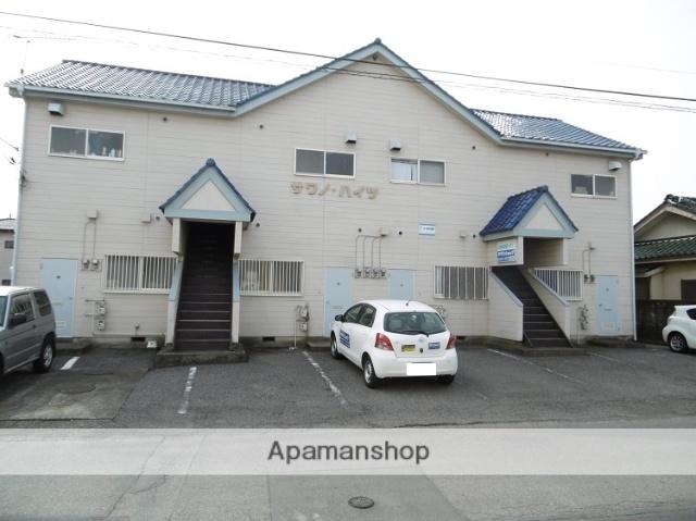 群馬県太田市、細谷駅徒歩37分の築27年 2階建の賃貸アパート
