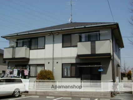 群馬県太田市、韮川駅徒歩15分の築19年 2階建の賃貸アパート