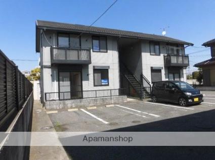 群馬県太田市、木崎駅徒歩10分の築19年 2階建の賃貸アパート