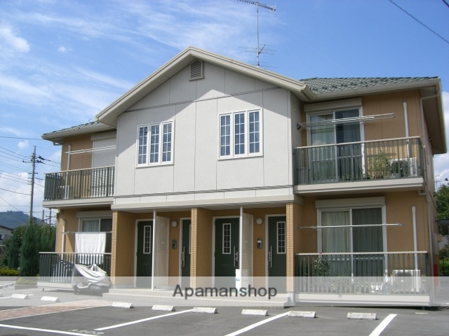 群馬県太田市、韮川駅徒歩17分の築13年 2階建の賃貸アパート