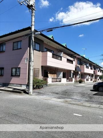 群馬県太田市、細谷駅徒歩30分の築24年 2階建の賃貸アパート