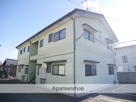 群馬県太田市、藪塚駅徒歩15分の築21年 2階建の賃貸アパート