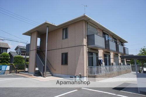 群馬県太田市、韮川駅徒歩25分の築10年 2階建の賃貸アパート