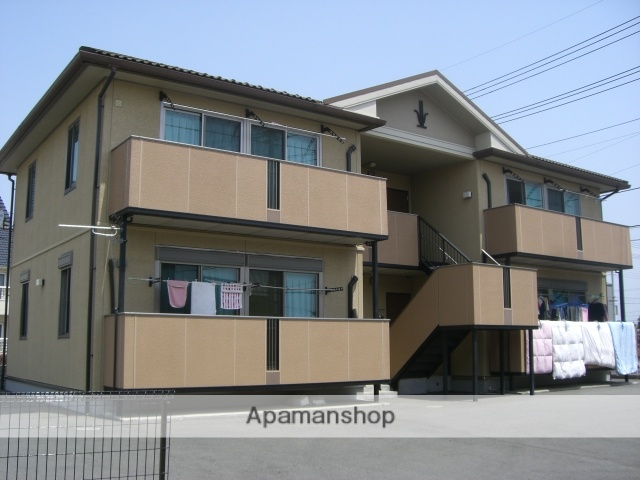 群馬県太田市の築14年 2階建の賃貸アパート