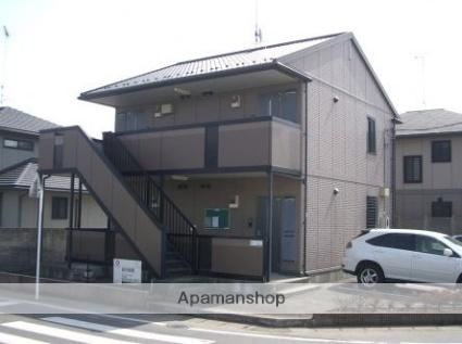 群馬県太田市、細谷駅徒歩40分の築13年 2階建の賃貸アパート