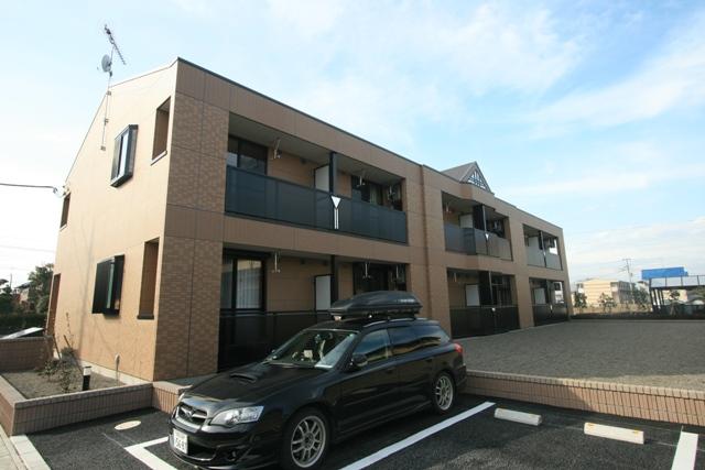 群馬県太田市、細谷駅徒歩40分の築7年 2階建の賃貸アパート