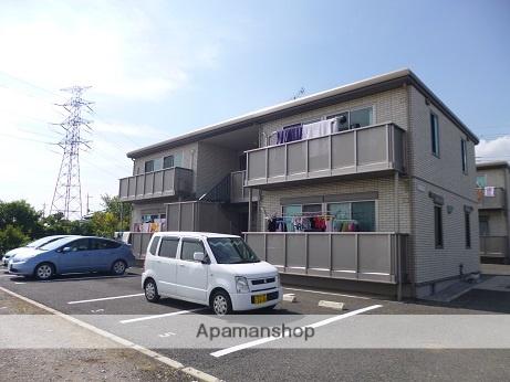群馬県太田市、国定駅徒歩45分の築8年 2階建の賃貸アパート