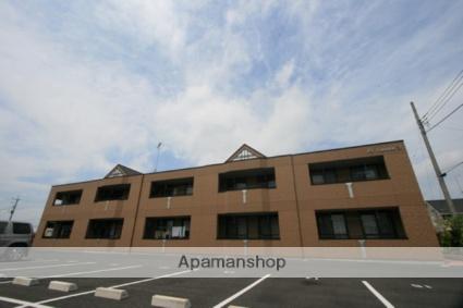 群馬県太田市の築7年 2階建の賃貸アパート
