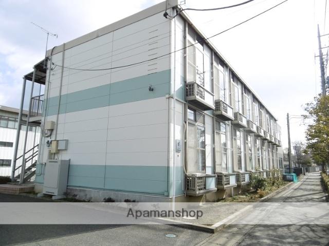 群馬県太田市、竜舞駅徒歩10分の築18年 2階建の賃貸アパート
