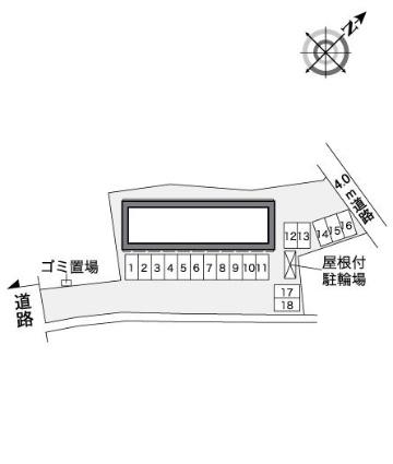 レオパレスLUKE[1K/28.02m2]の内装1