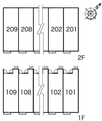 レオパレスLUKE[1K/28.02m2]の内装2