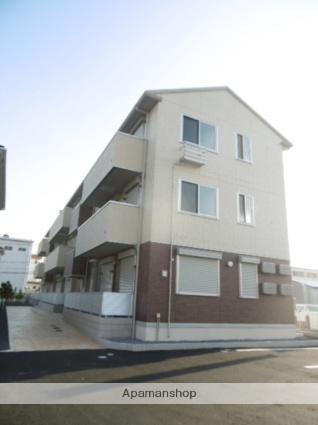 群馬県太田市の築1年 3階建の賃貸アパート
